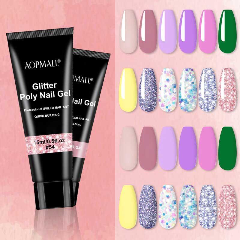 AOPMALL Crystal Polygel Poly Gel Best