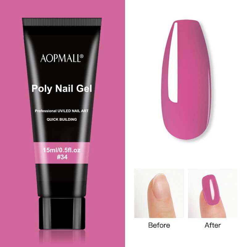 AOPMALL Polygel Rose Pink