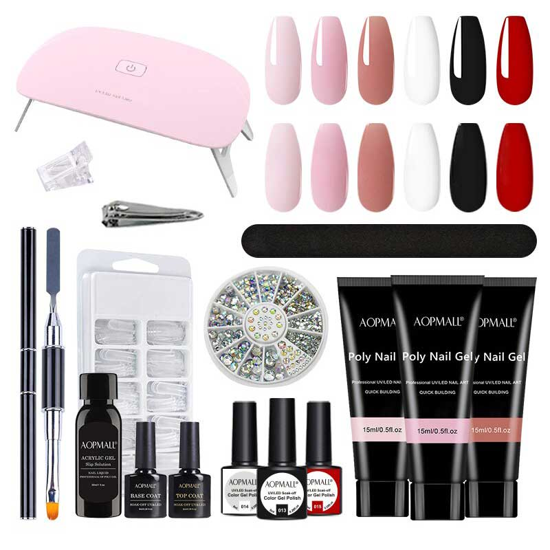 AOPMALL Polygel Nail Extension With Gel P