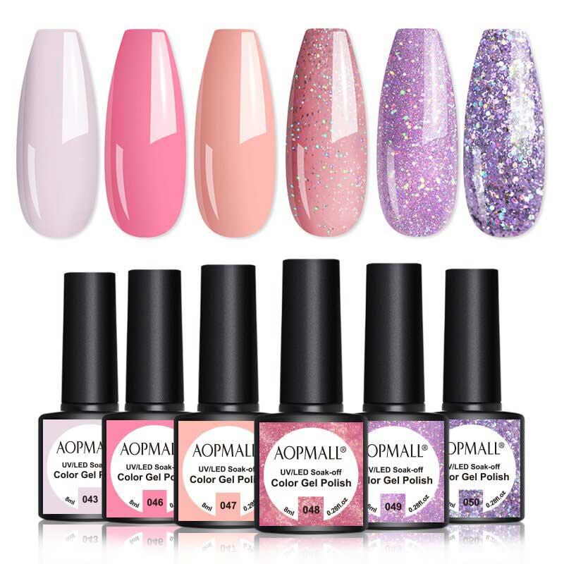 AOPMALL Best UV Light Gel Nail Polish