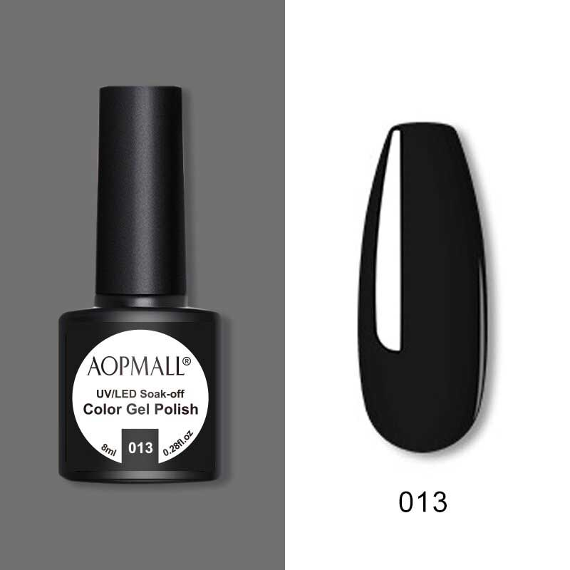 AOPMALL Best Black Gel Polish Colors