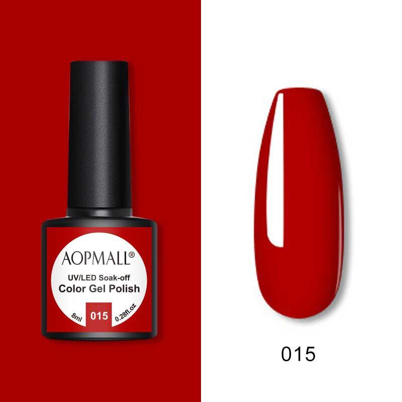 AOPMALL Top Red Gel Nail Polish