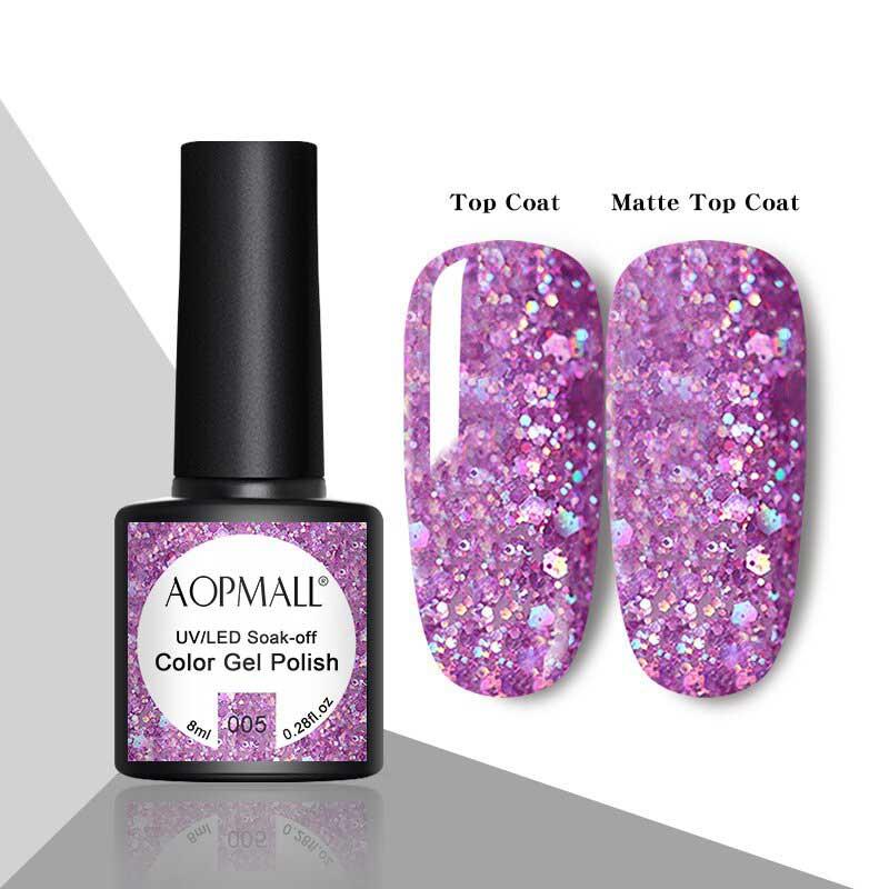 AOPMALL Glitter Gel Polish
