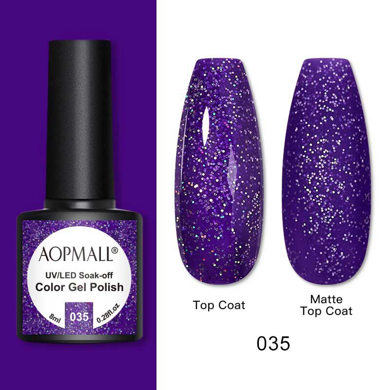 AOPMALL Glitter Gel Nail Polish